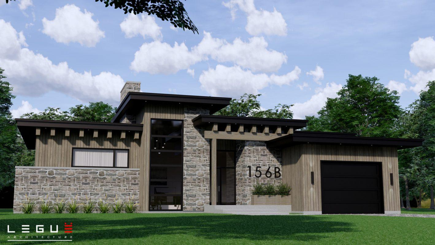 Plans De Maison De Plain Pied Moderne Legue Architecture