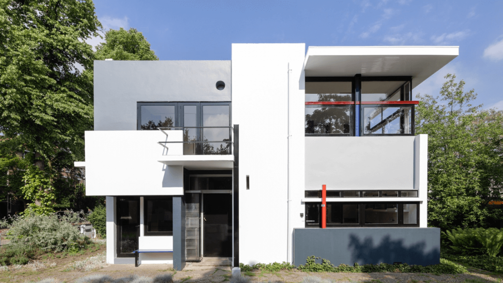 maison schroder conçue gerrit rietveld
