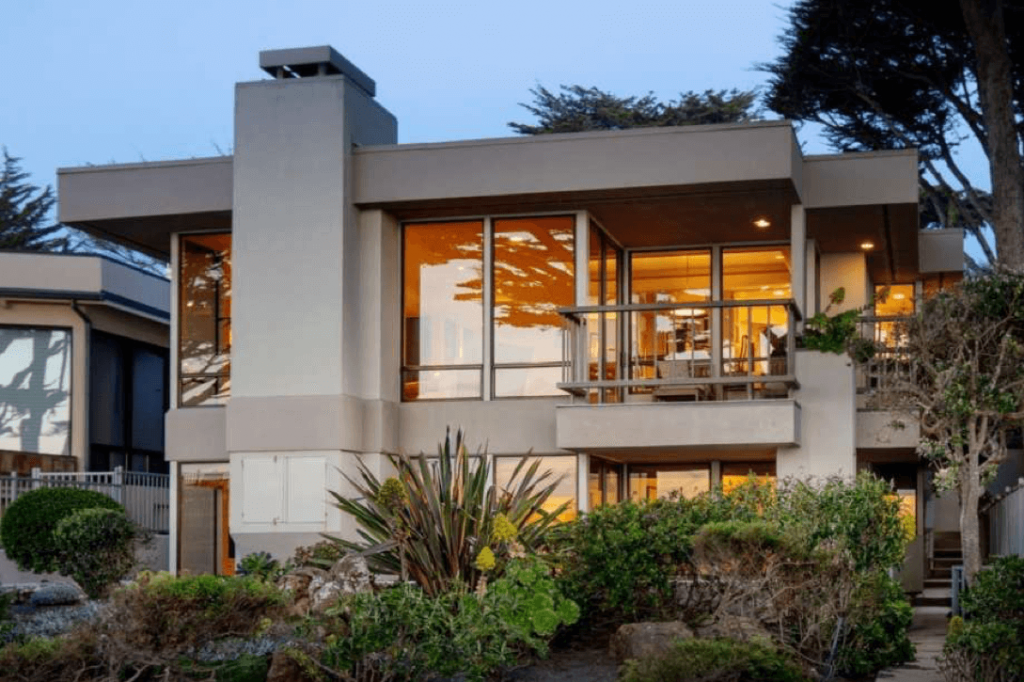 carmel beach house par paul davis