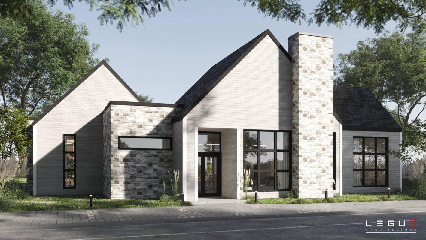 Plans De Maison Moderne A Faire Rever Legue Architecture